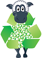 Ewe too can recycle with Wonderwool Wales
